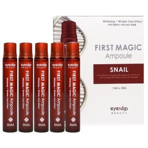 First magic ampoule snail