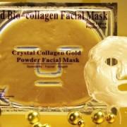 коллагеновая маска для лица с золотом